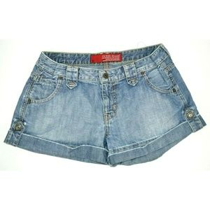 Guess Jeans Distressed Denim Shorts